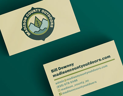Madison County Outdoors Branding and Print Design