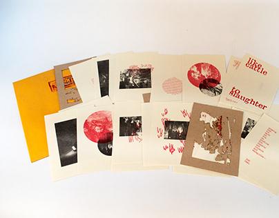 Luray: A Postcard Book
