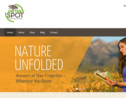 On The Spot Nature Guides Website