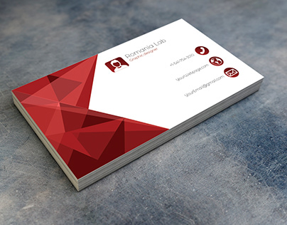 Professional Business Card Model 2