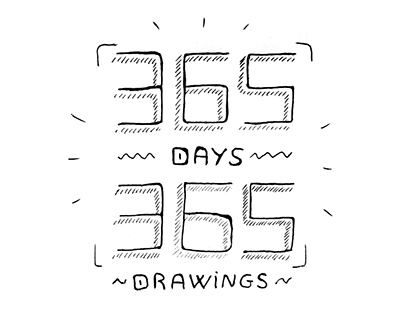 365 days - 365 drawings