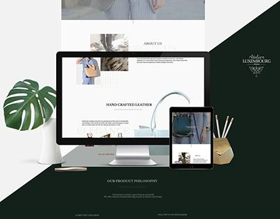 Atelier Luxembourg Website