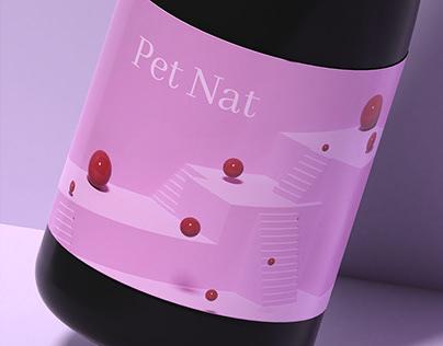Pet Nat wine label