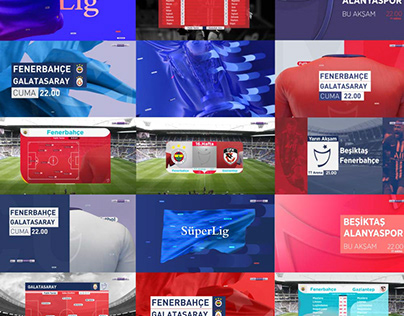 """beINSPORTS"" SUPERLIG REBRANDING CONCEPT"