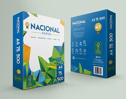 Nacional Papel - ID. Visual + Embalagem
