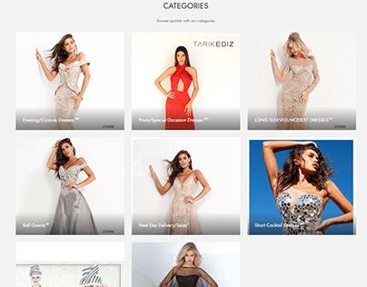 Gorgeous Dresses Website