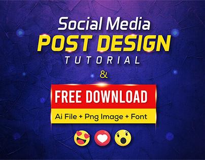 FREE DOWNLOAD Social Media Post/Banner Design Template