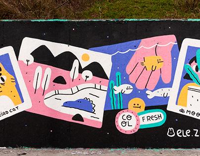 """""""Memories"""" Project / Mural"""