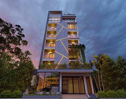 Nandita Exterior Design & Rendering || PW