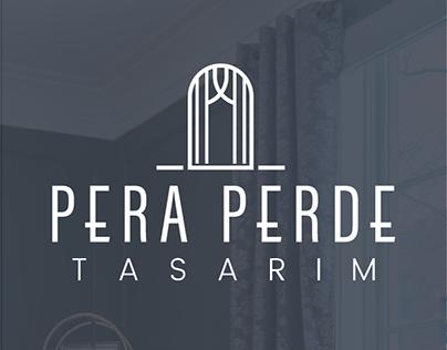 Pera Perde & Tasarım Logo Design