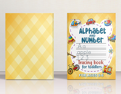 Alphabet and number tracing workbook