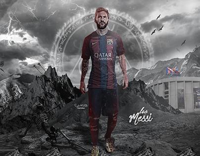 Leo Messi In The War - Wallpaper