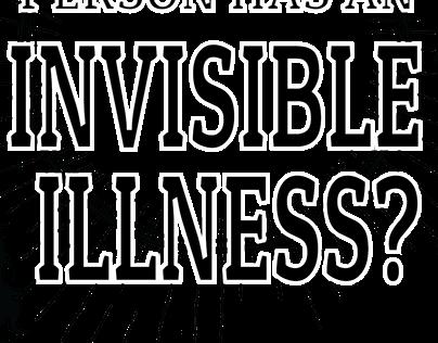 Invisible Illness T-Shirt Design