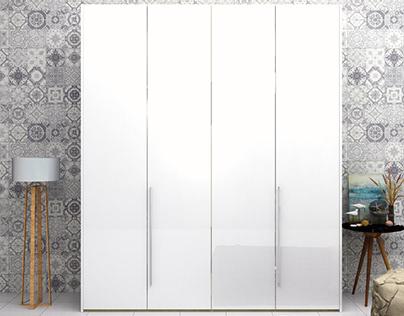 shutter wardrobe