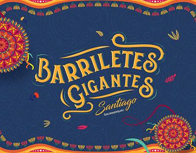 BARRILETES GIGANTES Landing Page