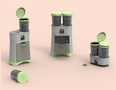 3RD YEAR PROJECT: TWIN COMPOSTER