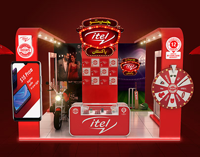 JEETO ITEL PAKISTAN EXHIBITION STALL DESIGN