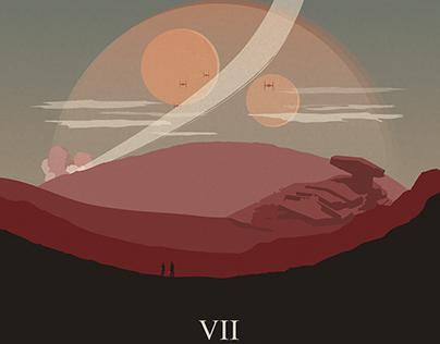 Star Wars - The Force Awakens (alternative poster)