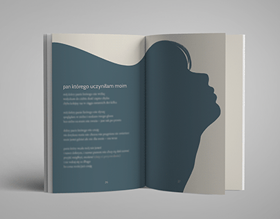 Skład i ilustracje tomika poezji