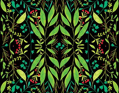 Pattern design. Witche F/W collection Casita de Wendy