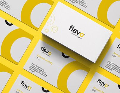Flavo branding identity