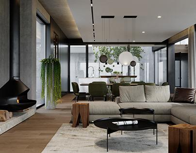 Vineyard Hill Interior