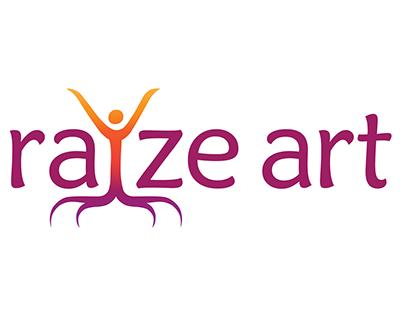 Raize Art - Branding, Logo & Website