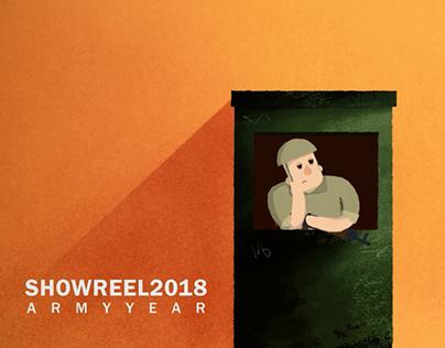 SHOWREEL 2018 - Army year