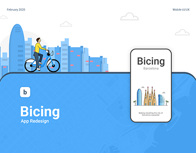 Bicing App Redesign
