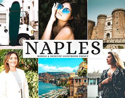 Free Naples Mobile & Desktop Lightroom Preset