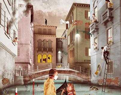 """Social death in Venice"""