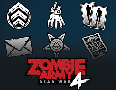 Zombie Army 4 Dead War Icons