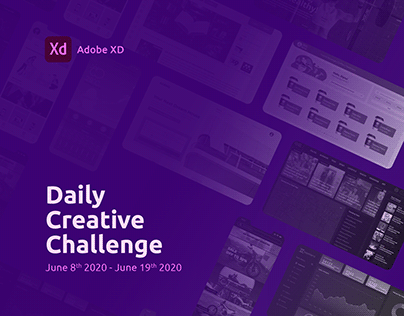 XD Daily Creative Challenge | 8-19 June