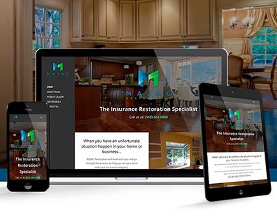 MAJAC Restoration   Website Design