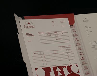 Lacuna branding & packaging