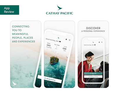 Cathay Pacific App Review