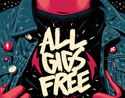 All Gigs Free: By Levi's Poster