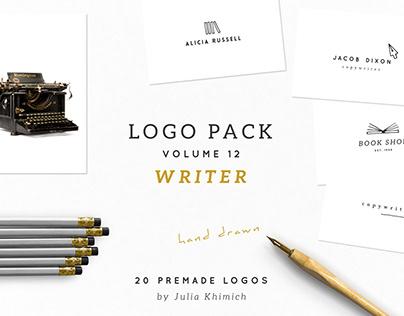 Logo Pack Volume 12. Writer