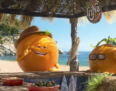 """""""Trina"""" summer drink animation commercial (2017)."""