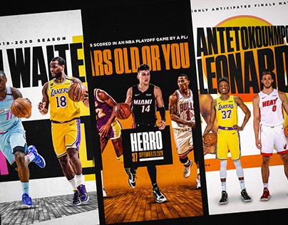 NBA Playoffs | Social Graphics
