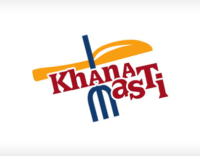 Khana Masti Logo Design
