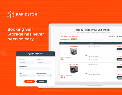 RapidStor - Self Storage Bookings