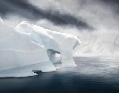 антарктический континент космос