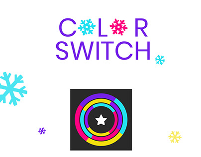 Color Switch Game Ui/ UX