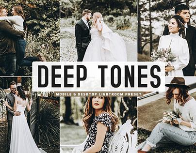 Free Deep Tones Mobile & Desktop Lightroom Preset