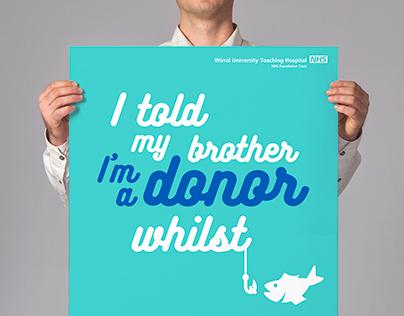Wirral Organ donor campaign