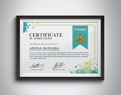 Certificate Multipurpose