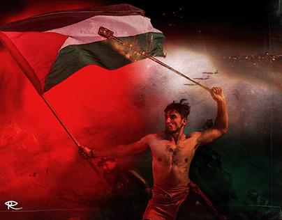 Warrior #FreePalestine