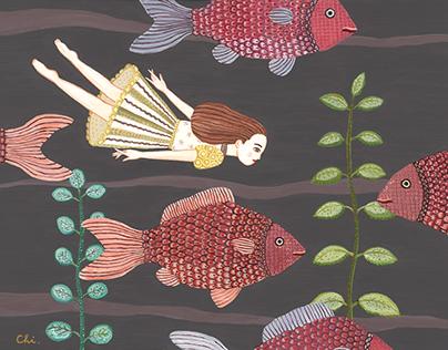 Fish and I