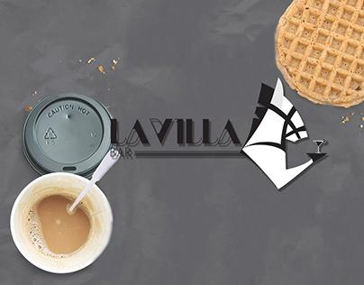 """Logo """"la villa"""""""